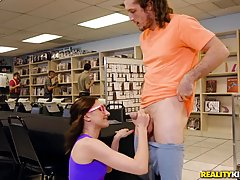 Petite babe, Kalsey Kage is getting fucked in a comic book s...