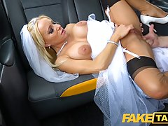 Nervous, blonde bride, Tara Spades is getting fucked in the ...