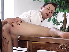 Chloe Lamour is pampering her guy in ways he could only drea...