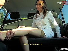 Classy business woman, Meggie Marika is getting banged from ...