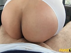 Big ass brunette, Marina Maya is getting fucked in the back ...