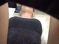 Hot office lady is often spreading her legs wide open for he...