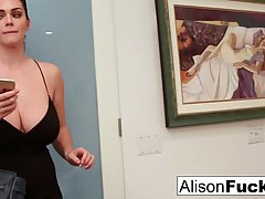 Horny, tattooed guy is getting amazing blowjobs from Alison Tyler and enjoying every sex session