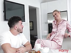 Blonde milf, Addie Andrews is often having steamy sex with h...