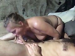 Insatiable blonde is having casual sex with a married man, because she likes his rock hard cock