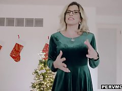 Cory Chase is a smashing blonde woman with glasses who likes...