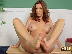 Rachel Steele is a cock loving milf who would use every oppo...