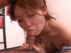 Passionate Japanese girls are using every opportunity to suc...