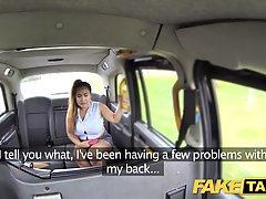 Пышная тайка трахается с таксистом Лондона